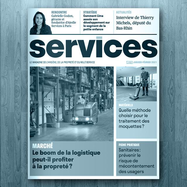 Gabrielle Godon magazine Services Propreté